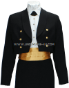US MERCHANT MARINE FEMALE DINNER DRESS BLUE JACKET