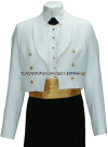 us merchant marine female dinner dress white jacket