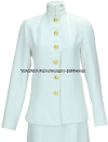 US MERCHANT MARINE FEMALE SERVICE DRESS WHITE CHOKER