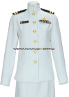 USPHS FEMALE SERVICE DRESS WHITE UNIFORM