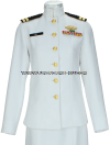 US MERCHANT MARINE FEMALE SERVICE DRESS WHITE UNIFORM