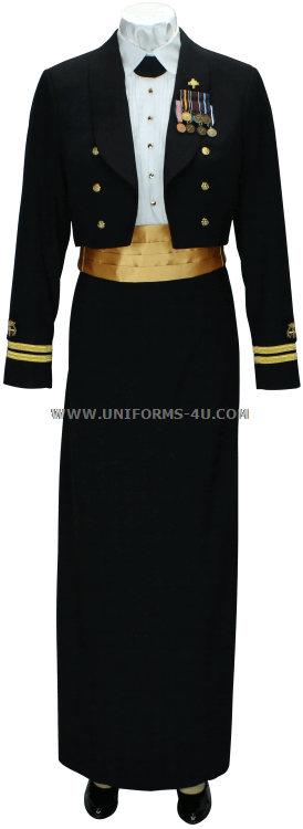 Usphs Female Dinner Dress Blue Uniform