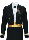US MERCHANT MARINE FEMALE DINNER DRESS BLUE UNIFORM