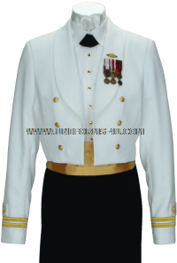 us merchant marine female dinner dress white uniform