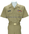 US MERCHANT MARINE SUMMER KHAKI UNIFORM