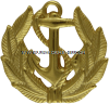 US MARITIME SERVICE ANCHOR AND WREATH CAP DEVICE