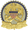 USPHS DEPARTMENT OF HEALTH AND HUMAN SERVICE IDENTIFICATION BADGE