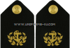 U.S. MARITIME SERVICE LINE OFFICER HARD SHOULDER BOARDS
