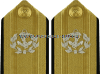 U.S. MARITIME SERVICE FLAG OFFICER HARD SHOULDER BOARDS