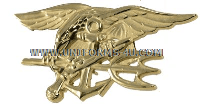 U.S. NAVY SPECIAL WARFARE (SEAL) BADGE