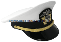 US NAVY OFFICER WHITE HAT