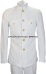 U.S. NAVY MALE OFFICER/CPO SERVICE DRESS WHITE COAT