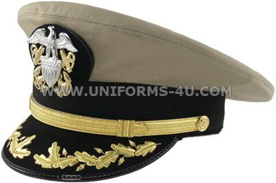 Navy Officer Visor Cap Navy Commander Captain Hat Accessory