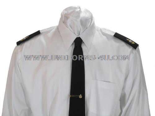 White Uniform Shirt 116