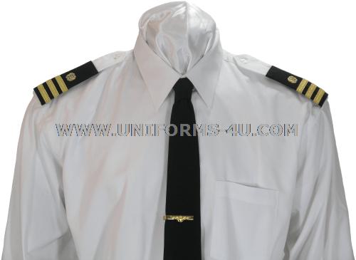 US NAVY WHITE SHIRT FOR DRESS BLUE UNIFORM