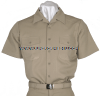 US NAVY OFFICER KHAKI SHIRT