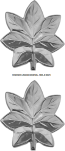 USMC LT Colonel Collar Devices