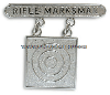 USMC RIFLE MARKSMAN BADGE