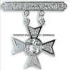 USMC PISTOL SHARPSHOOTER BADGE