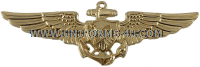 U.S. NAVY NAVAL ASTRONAUT BADGE