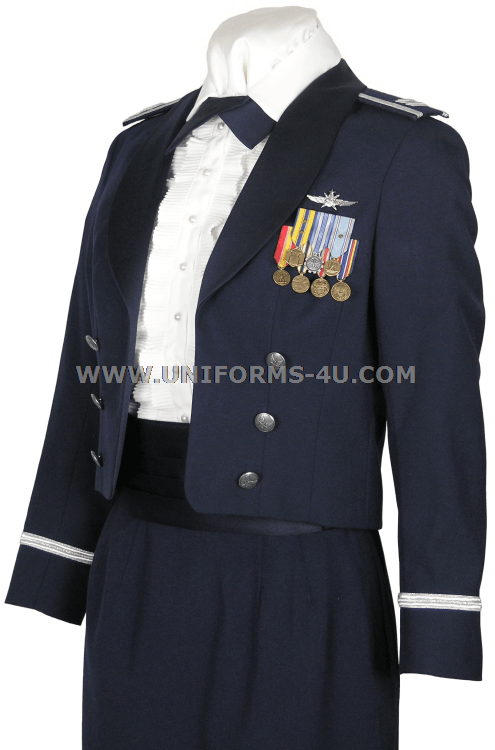 New Canadian Air Force Winter Mess Dress Uniform Female | Au.CosplaySky.com