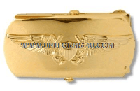 U.S. NAVY FLIGHT OFFICER BELT BUCKLE