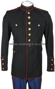 USMC MALE ENLISTED BLUE DRESS COAT