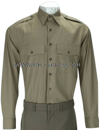 U.S. ARMY MALE ARMY GREEN SERVICE UNIFORM (AGSU) LONG-SLEEVE SHIRT