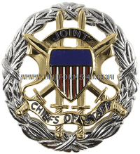United States Joint Chiefs of Staff Identification Badge