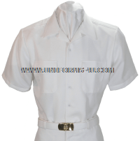 US Navy Enlisted White CNT Shirt