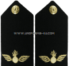 US NAVY CWO AVIATION ORDNANCE TECHNICIAN (AO) HARD SHOULDER BOARDS