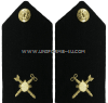 US NAVY CWO HARD SHOULDER BOARDS explosive ordnance technician