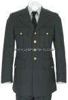 U.S. ARMY ENLISTED / OFFICER CLASS A GREEN COAT FOR MALES