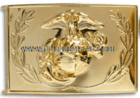 us marine corps waistplate snco buckle with ega emblem and wreath