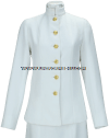 U.S. NAVY FEMALE OFFICER/CPO SERVICE DRESS WHITE CHOKER