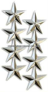 GENERAL / ADMIRAL 4-STAR SHOULDER RANK INSIGNIA