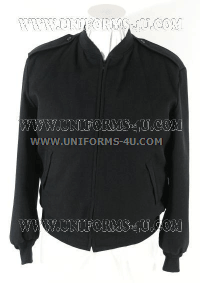 us navy Black Windbreaker