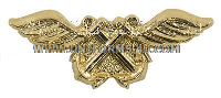U.S. Navy CWO Aviation Boatswain (AB) Collar Device