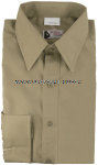 US NAVY DRESS KHAKI SHIRT