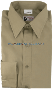 U.S. NAVY KHAKI DRESS SHIRT