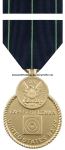 NAVY RIFLE MARKSMANSHIP RIBBON / EXPERT MEDAL