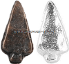 arrowhead attachment for ribbons and medals