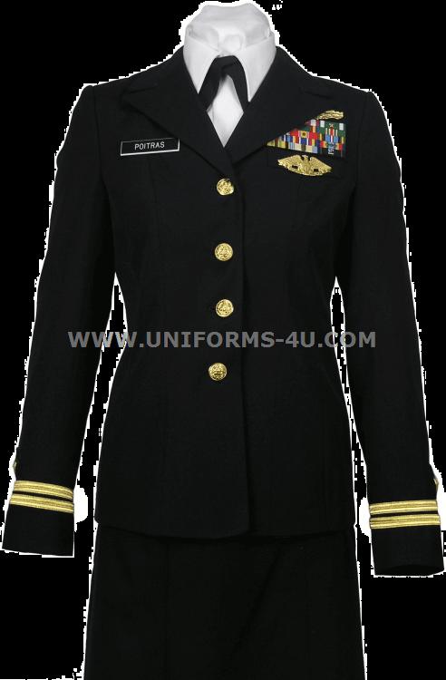 Navy enlisted service uniform