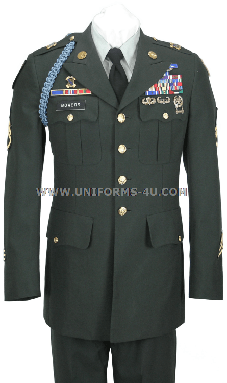 US ARMY CLASS A ENLISTED GREEN UNIFORM - photo#44