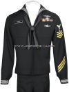 U.S. NAVY ENLISTED SERVICE DRESS BLUE UNIFORM (E1 - E6)