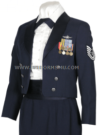 USAF Female Enlisted Mess Dress Uniform