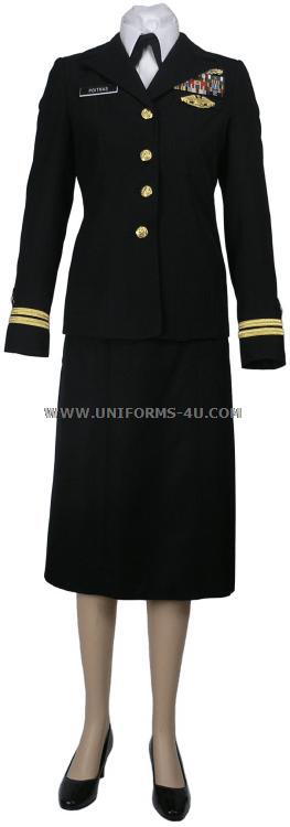 Us Navy Service Dress Blue Skirt