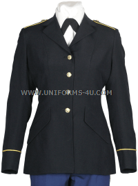 U.S. ARMY FEMALE ENLISTED ASU BLUE COAT