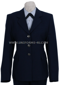 USAF FEMALE ENLISTED SERVICE DRESS COAT