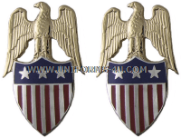 US army aide to lieutenant general insignia